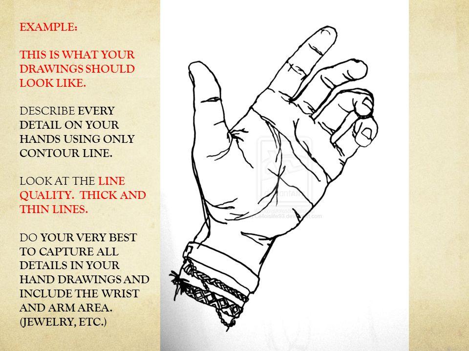hands examples exercises to practice in sketchbook classwork