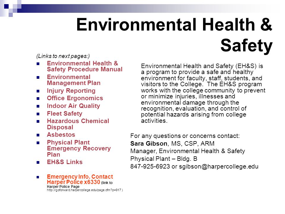 health safety environment report feyzin Apsu environmental, health, and safety serves the university community by providing consultation, technical support, policies and guidance documents, information austin peay state university will support and maintain a strong commitment to safety, health and environmental protection through.