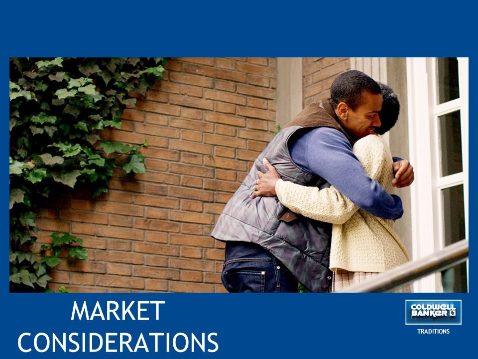 MARKET CONSIDERATIONS TRADITIONS