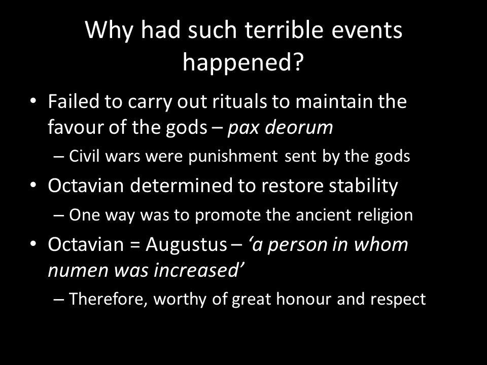 augustus caesar religion
