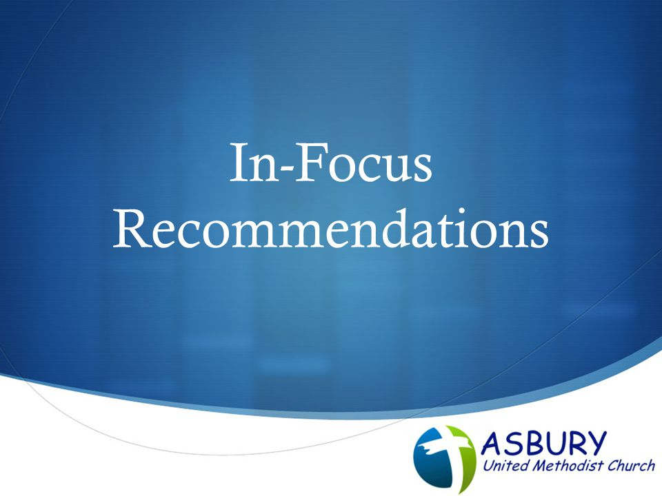  In-Focus Recommendations