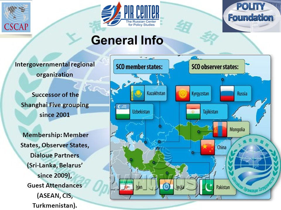 The Shanghai Cooperation Organization Maintaining Cyber Security In