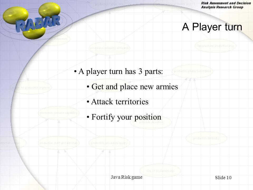 Java Risk game Slide 1 The rules of RISK Simon Forey  - ppt
