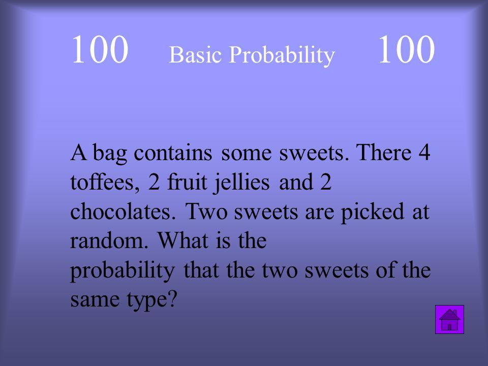 Statistics Review Basic Probabilit Y Venn Diagrams Tree Diagrams