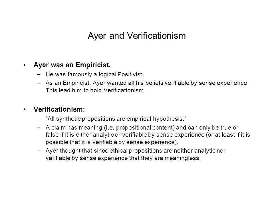 Ethical Emotivism