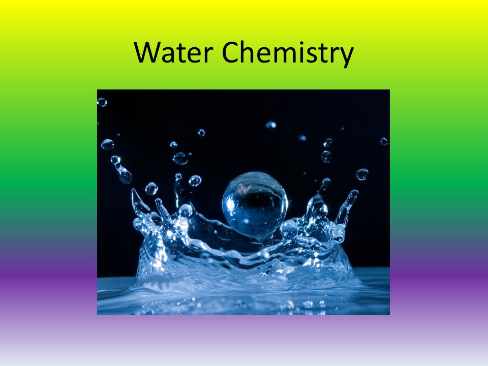Water Chemistry