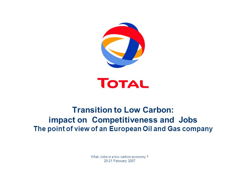 What Jobs in a low carbon economy .