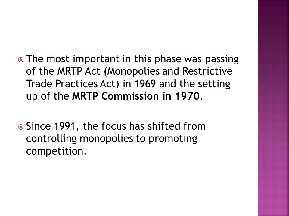 MRTP ACT 1991 EBOOK DOWNLOAD