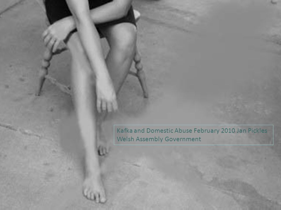 Kafka and Domestic Abuse February 2010 Jan Pickles Welsh Assembly Government