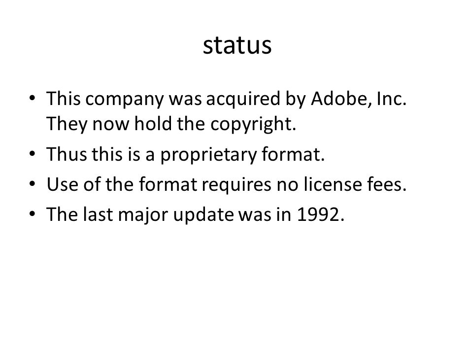 status This company was acquired by Adobe, Inc. They now hold the copyright.