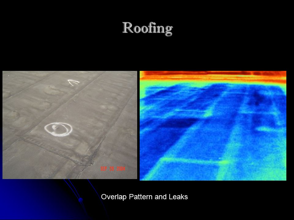 Roofing Overlap Pattern and Leaks