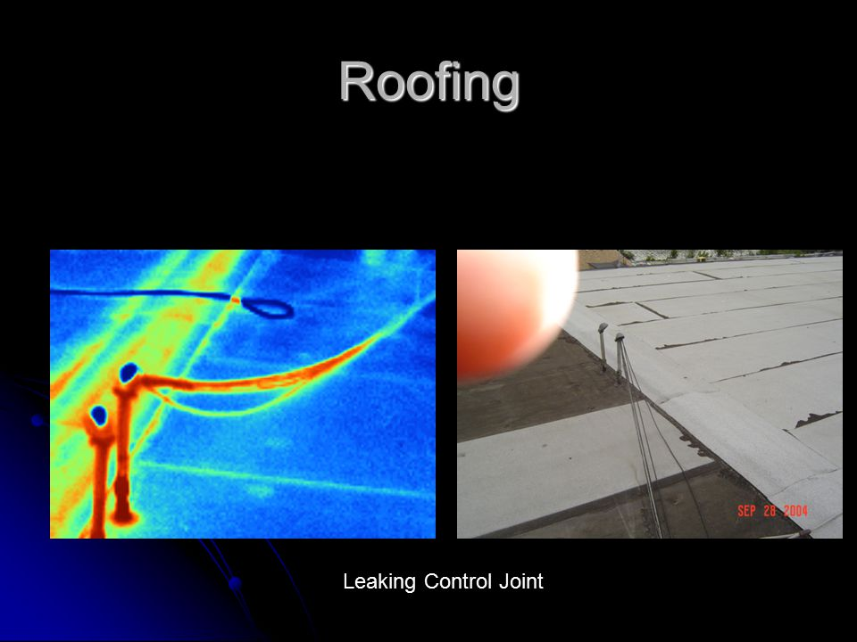 Roofing Leaking Control Joint