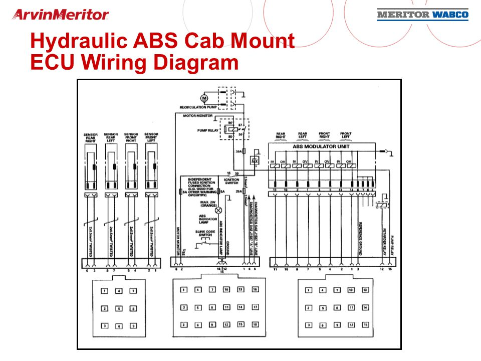 Wabco Frame Mounted Ecu Wiring Schematic on