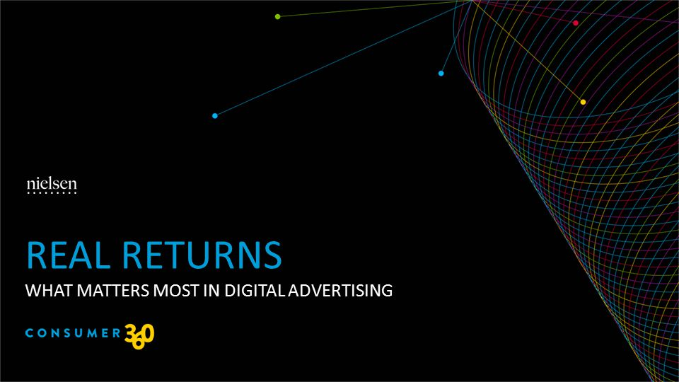 WHAT MATTERS MOST IN DIGITAL ADVERTISING REAL RETURNS