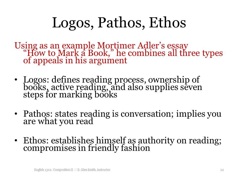 ethos pathos logos examples