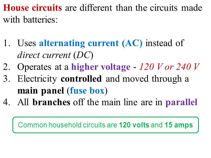 Magnificent S Explain Parallel Circuits Components And Safety Of House Wiring Wiring Digital Resources Kookcompassionincorg