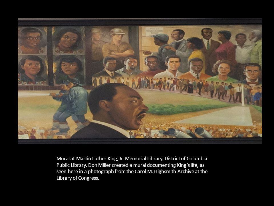 ART INSPIRED BY MARTIN LUTHER KING JR'S LEGACY Visit link