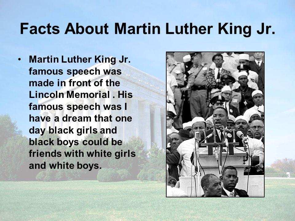 Martin Luther King Jr By Imer Nunez 3 Rd Grade Havard Elementary