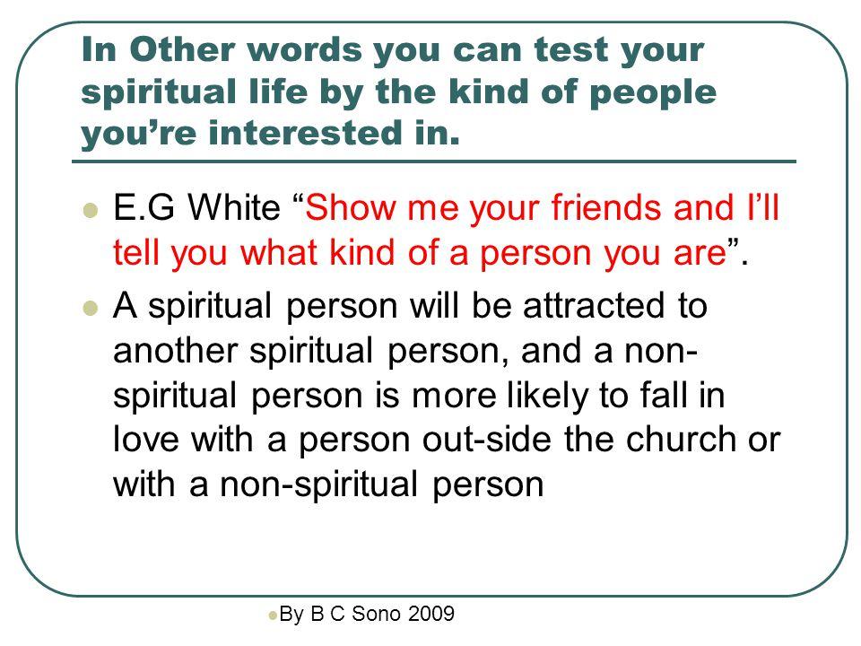 dating a non spiritual person
