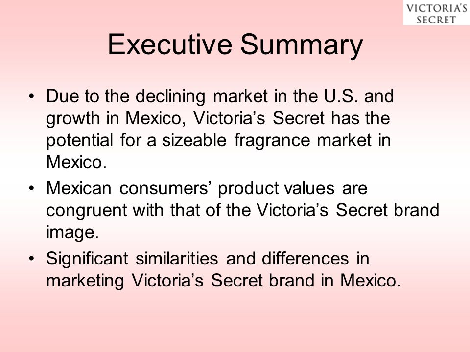 victorias secret target market demographics