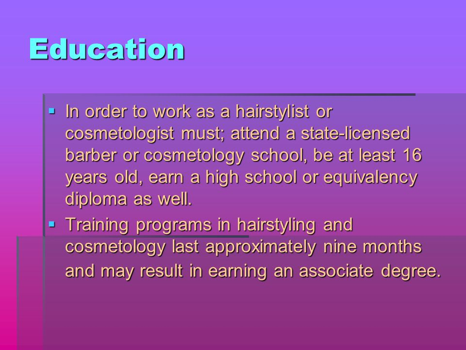 History Of Cosmetology By Brittany Carter Outline I Cosmetology