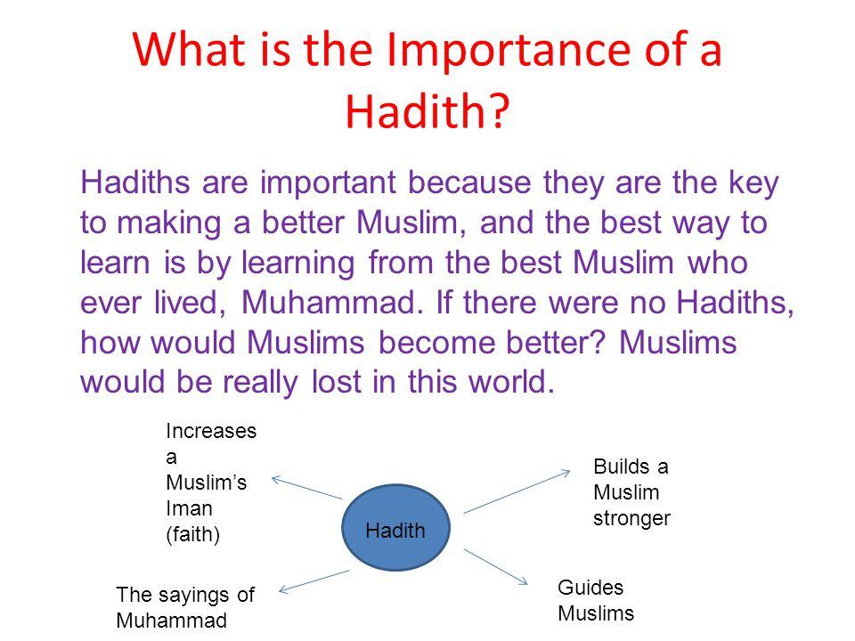 IMPORTANCE OF HADITH EPUB
