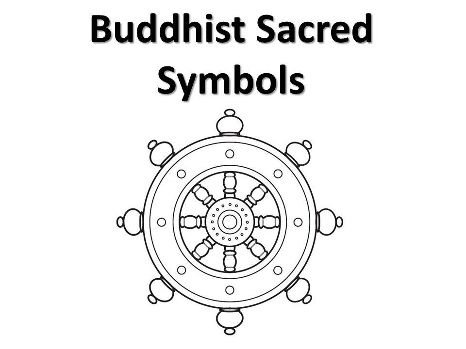 Buddhist Sacred Symbols Butsudan Small Household Shrine It