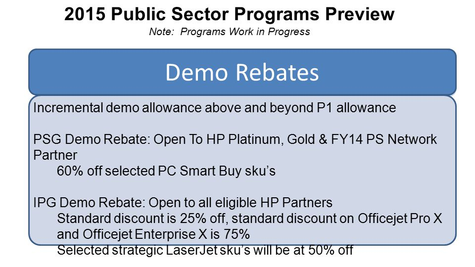 Hp Partner Registration