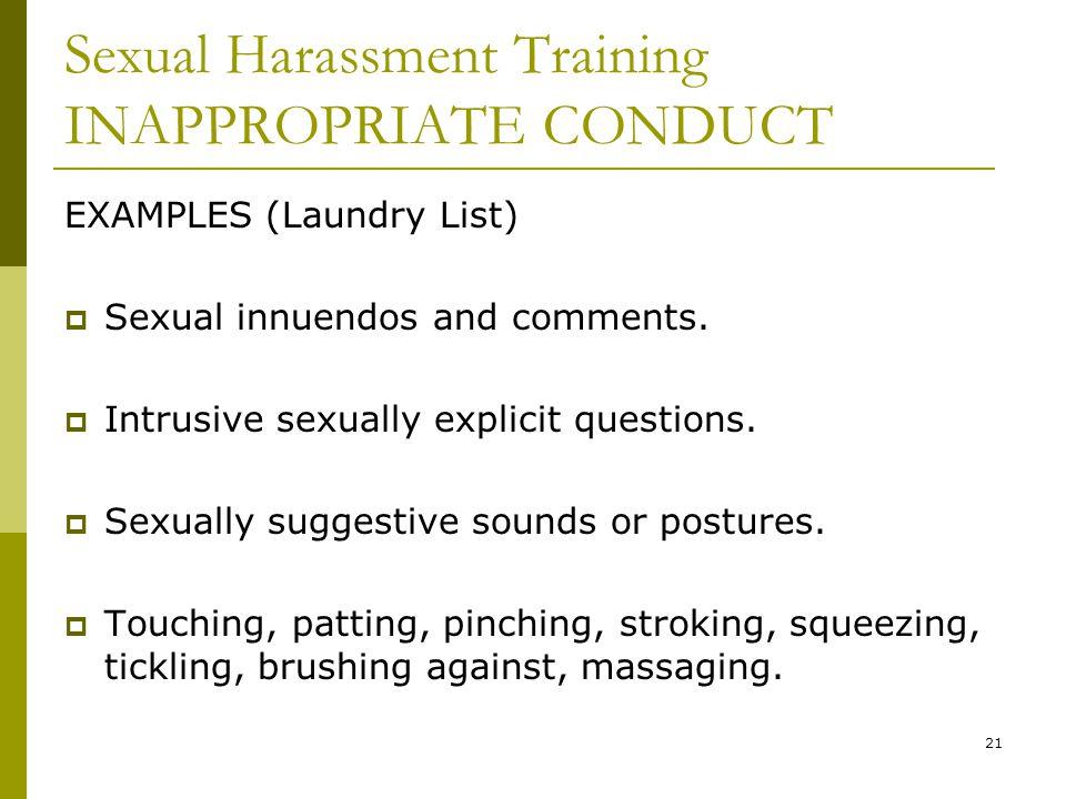 Sexual innuendos list