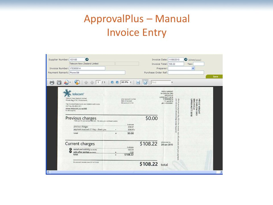 The most comprehensive Oracle applications & technology content under one roof ApprovalPlus – Manual Invoice Entry