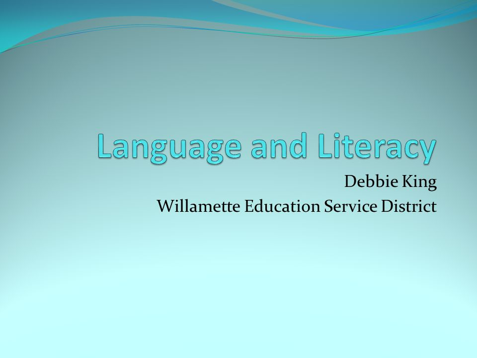 Debbie King Willamette Education Service District