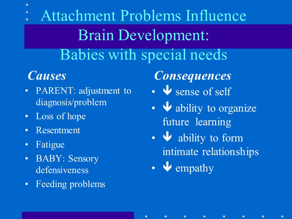 What kind of experiences affect brain development.