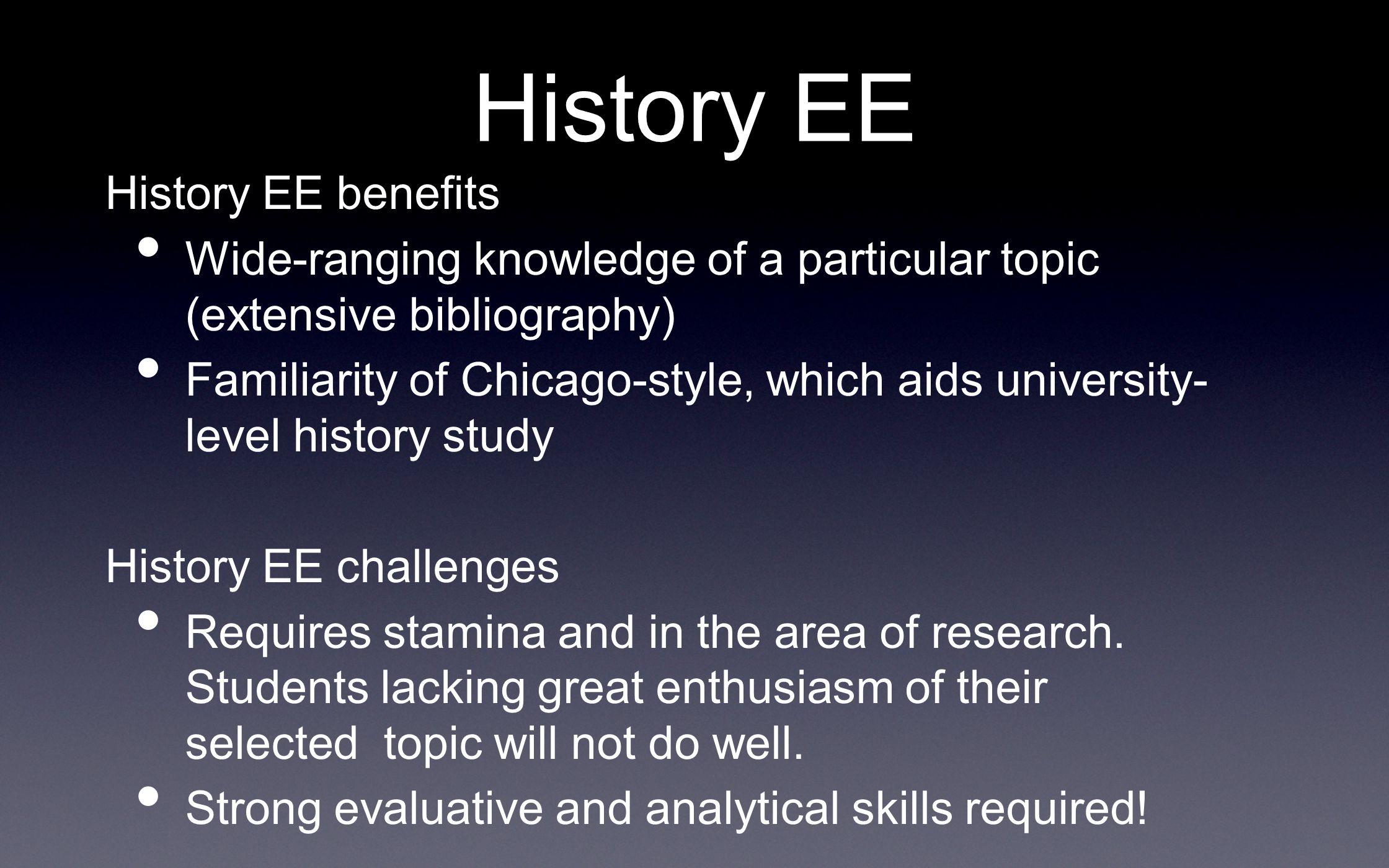 history extended essay topics