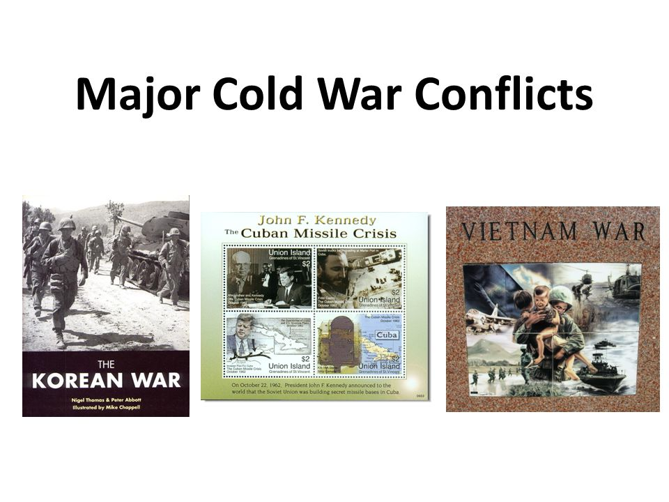 Major Cold War Conflicts