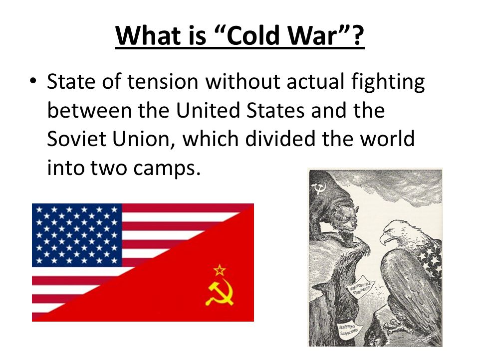 What is Cold War .