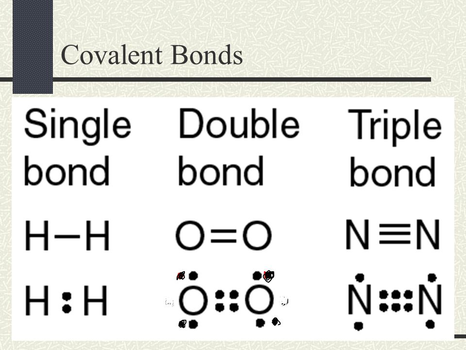 Triple Covalent Bond A Triple Covalent Bond is a bond that involves 3 shared pairs of electrons (6 e - )