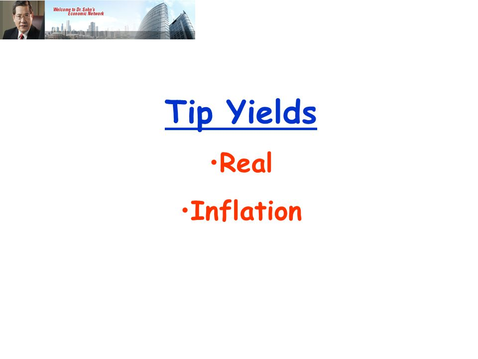 Tip Yields Real Inflation