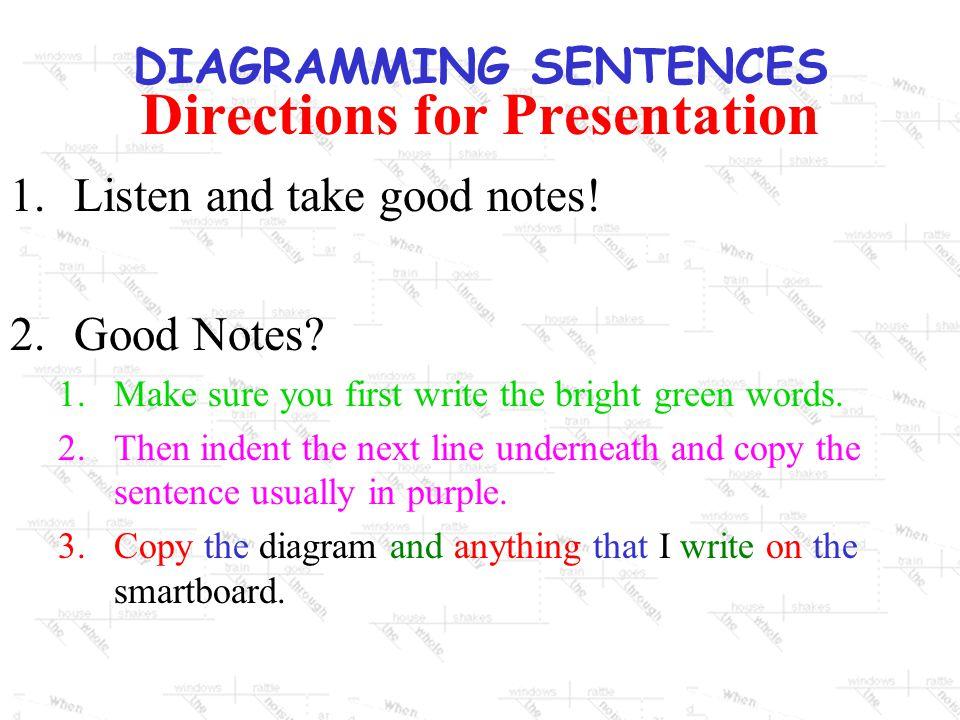 Diagramming sentences 1diagramming sentences provides a way of 3 diagramming sentences ccuart Gallery