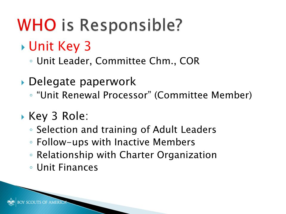 Seneca District Roundtable October 2 Your Charter Attests To The