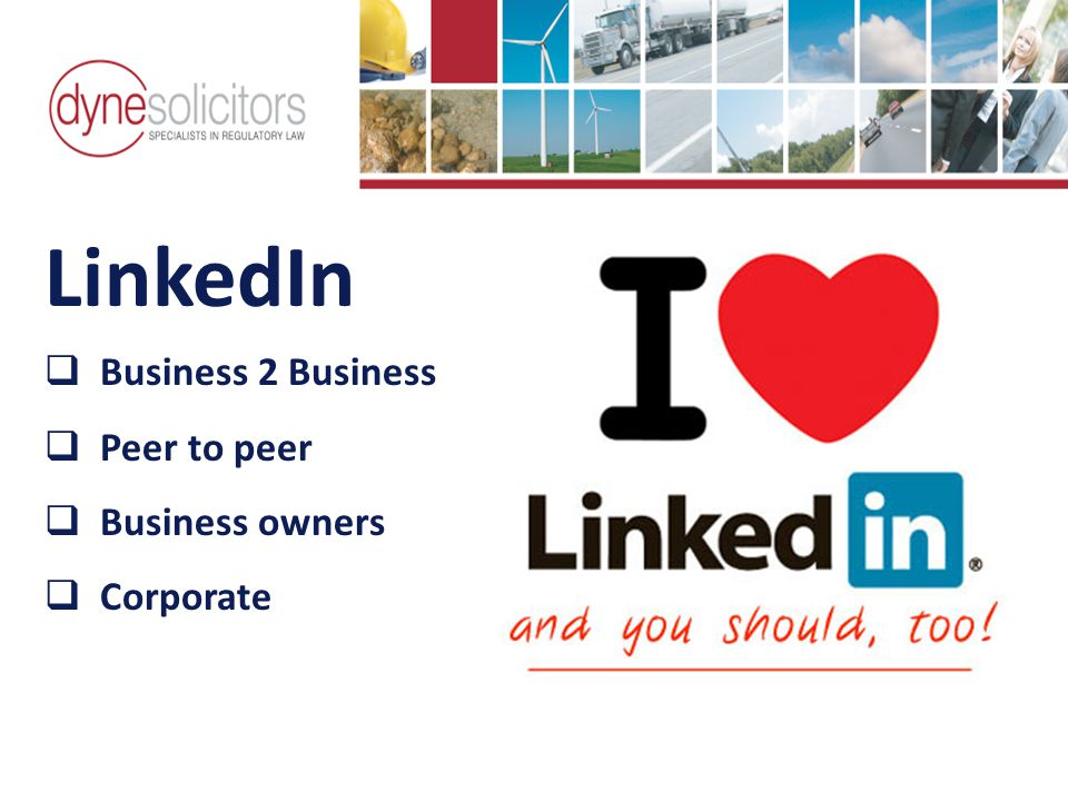 LinkedIn  Business 2 Business  Peer to peer  Business owners  Corporate Business Development in the Information Age Online Marketing For Transport