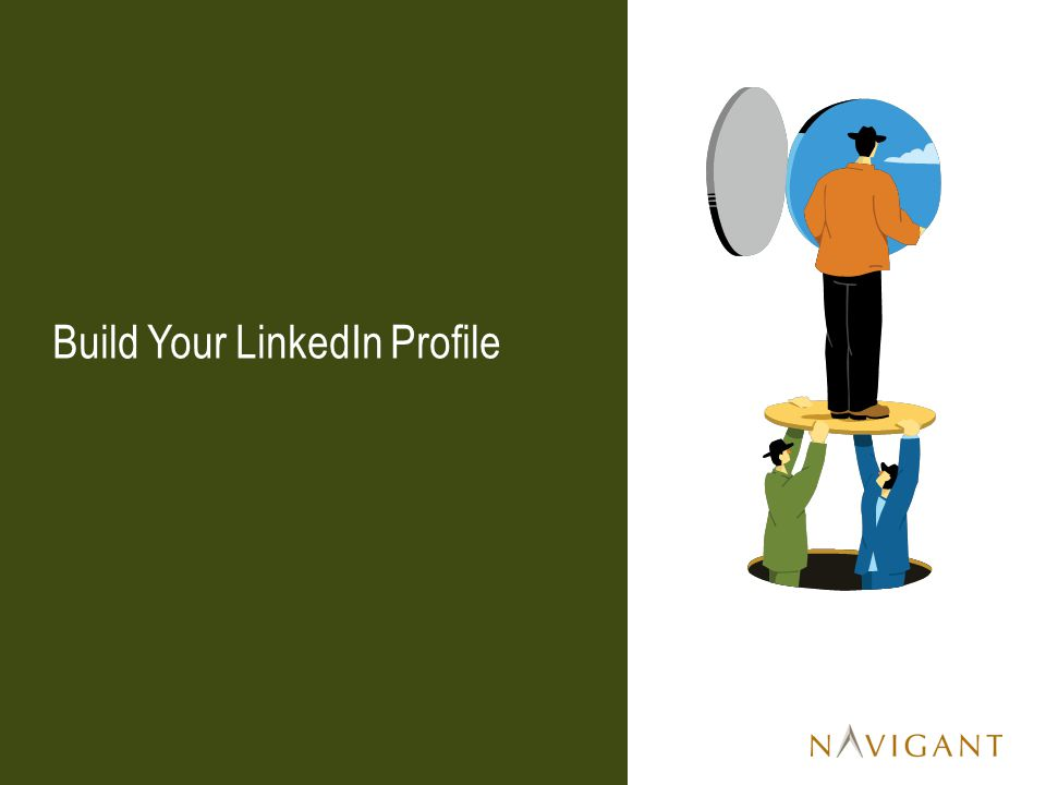 Build Your LinkedIn Profile