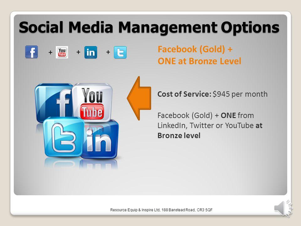 Social Media Management Options Social Media Management