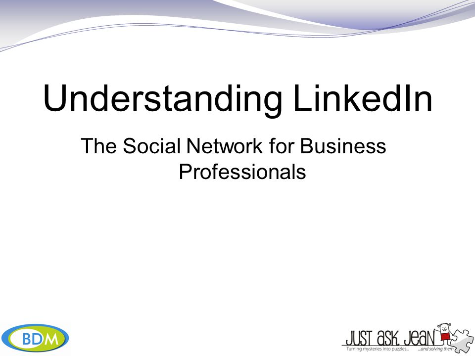 Understanding LinkedIn The Social Network for Business Professionals