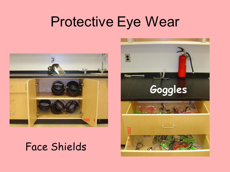 Protective Eye Wear Face Shields Goggles