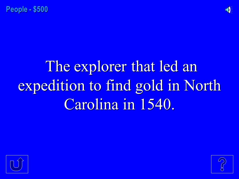 People - $400 The first governor of North Carolina.