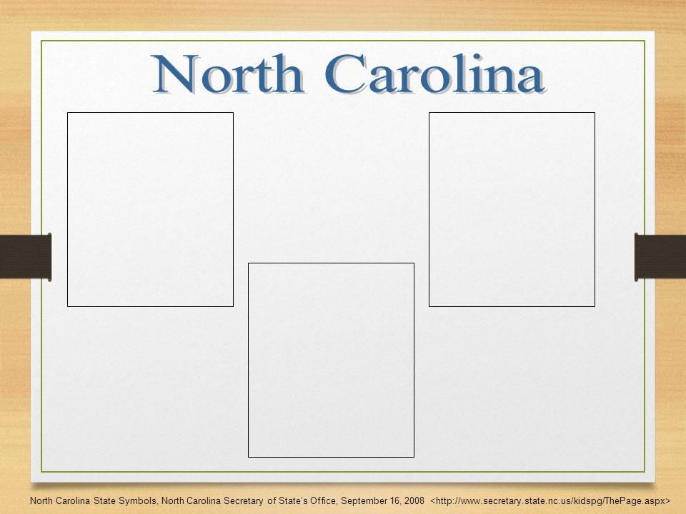 North Carolina State Symbols North Carolina Secretary Of States