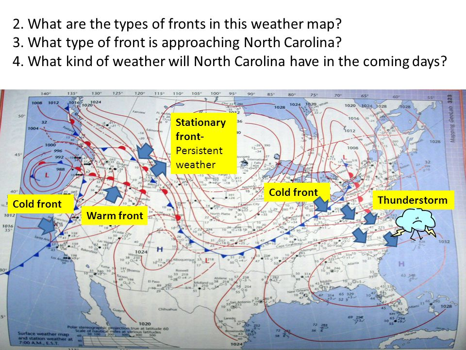 Introduction To Weather Map Eric Angat Teacher 1 What Is A Weather