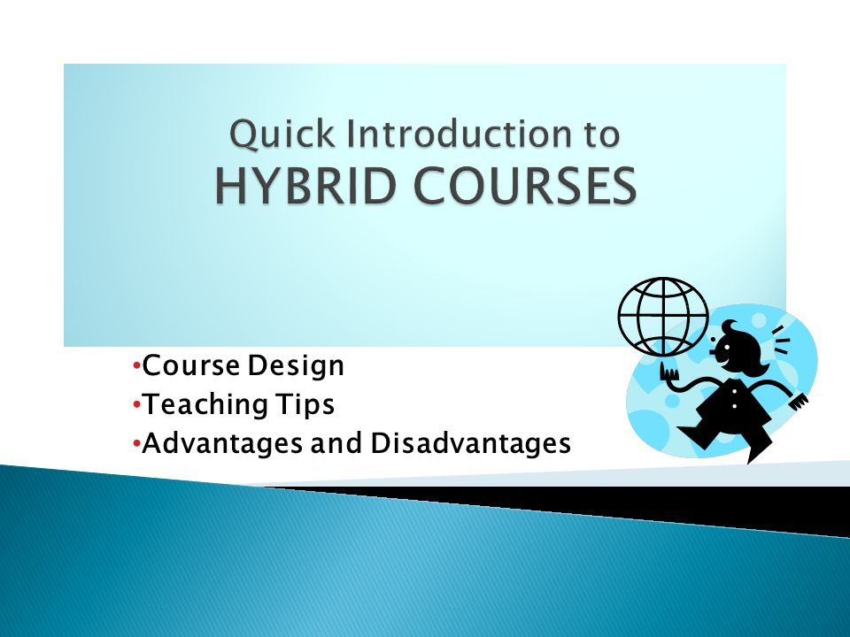 Course Design Teaching Tips Advantages And Disadvantages Ppt Download