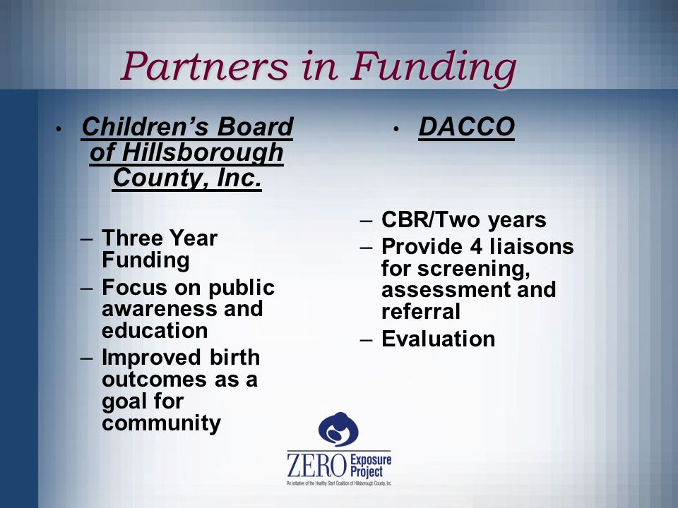 Partners in Funding Children's Board of Hillsborough County, Inc.