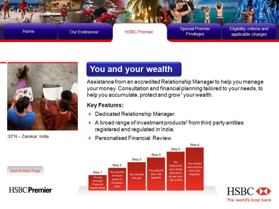 HSBC Premier Home Our Endeavour Special Premier Privileges